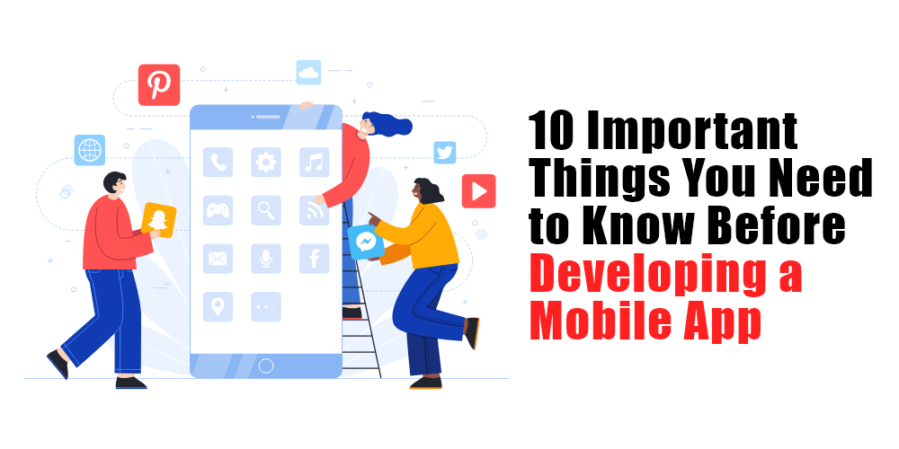 mobile app development considerations