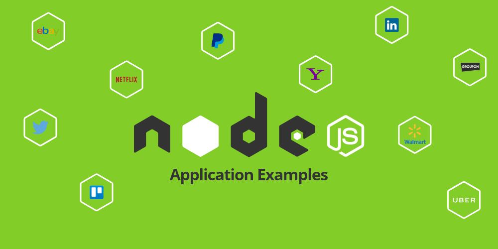 nodejs application examples